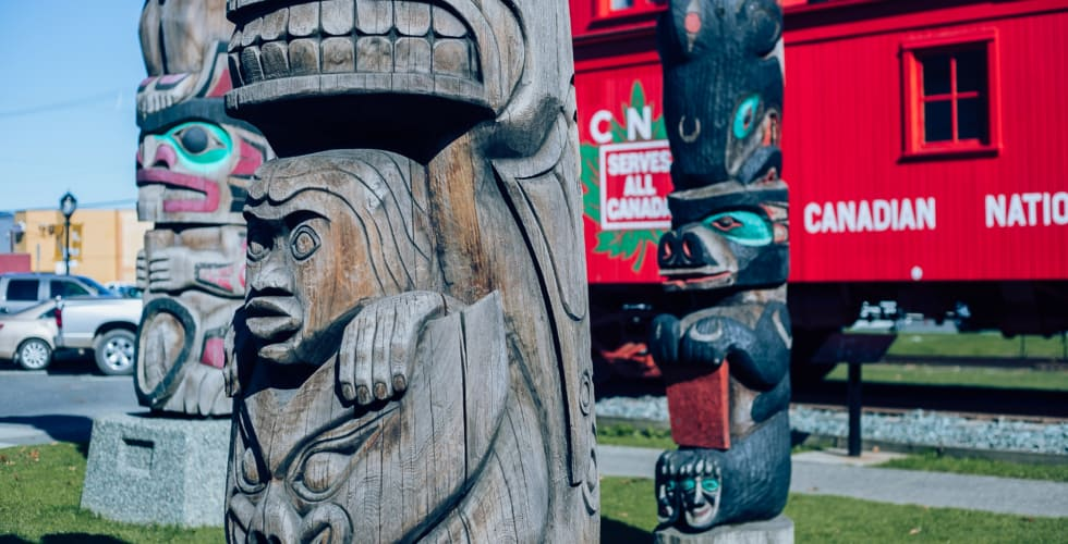 Duncan city of totems first nations history