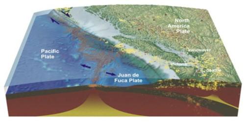 earthquake techtonic plate map