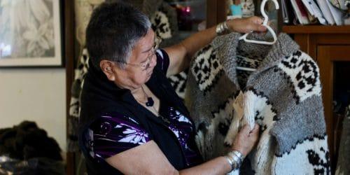 Dora Wilson Cowichan sweater